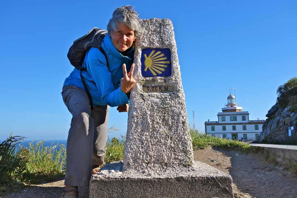 Fabienne Bodan, auteure du Guide chemins de pèlerinage du monde